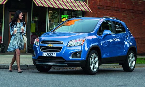 Chevrolet начал продажи Tracker в России