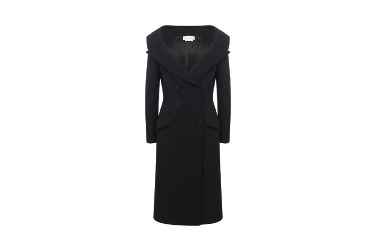 Женское пальто Alexander McQueen, 332 000 руб. (ЦУМ)