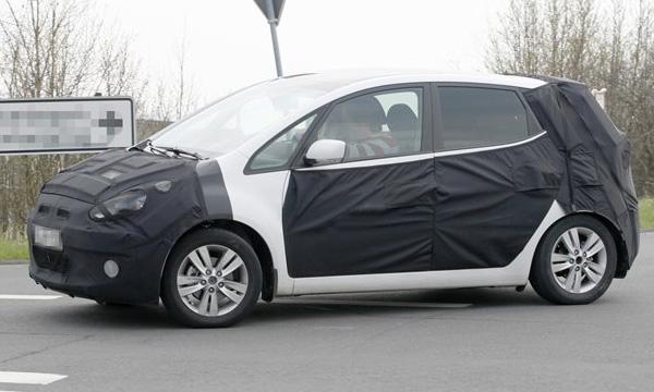 Шпионские фото новой модели Hyundai