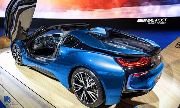 BMW i8 получит открытую версию