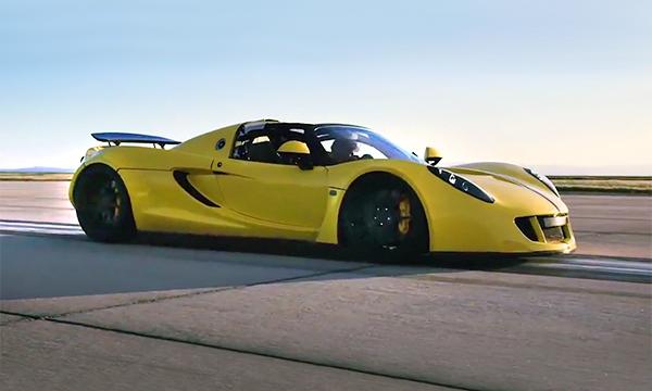 Гиперкар Hennessey Venom GT побил собственный рекорд скорости