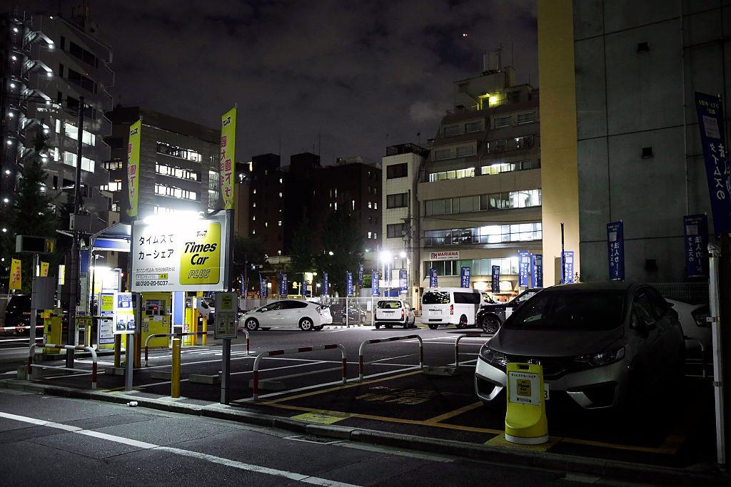 Станция каршерингаPark24 Co., Токио