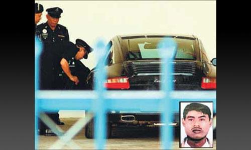 Малайзийский вор угнал один и тот же Porsche дважды