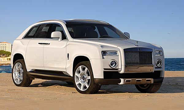 Rolls-Royce представит внедорожную модель