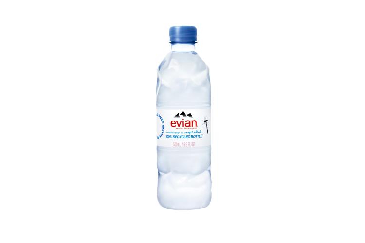 Бутылка для воды, коллаборация Virgil Abloh X Evian