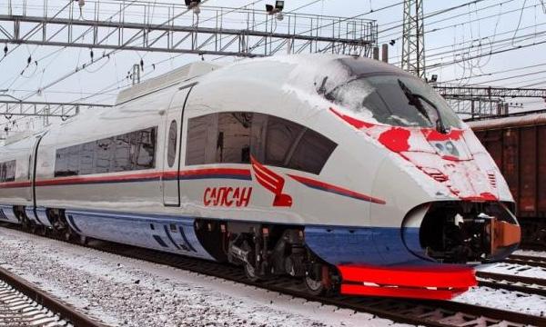 17 декабря первый Сапсан отправится из Москвы в Петербург