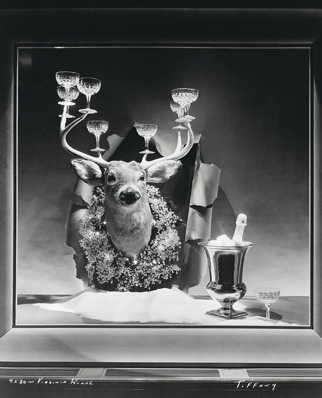 Первая рождественская витрина Джина Мура для Tiffany & Co., 1955