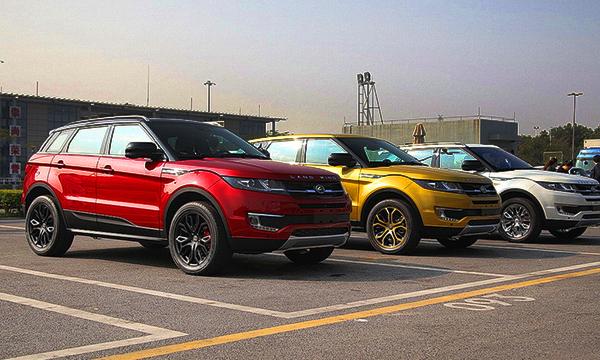 Производитель Land Rover обвинил китайскую компанию в копировании машины