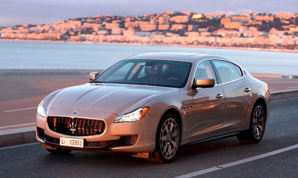 Maserati Quattroporte. Тест-драйв самого быстрого седана в мире