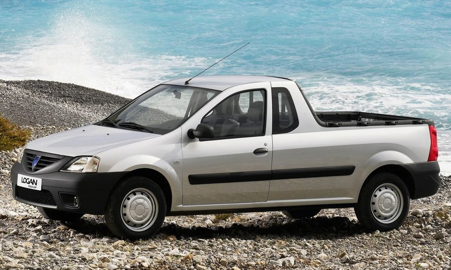 Dacia Logan получил кузов пикап