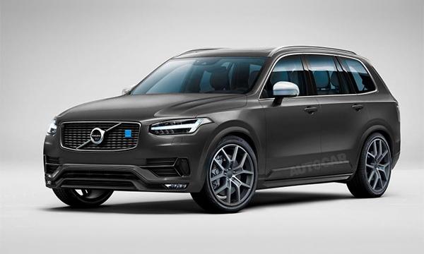 Кроссовер Volvo XC90 получит версию Polestar
