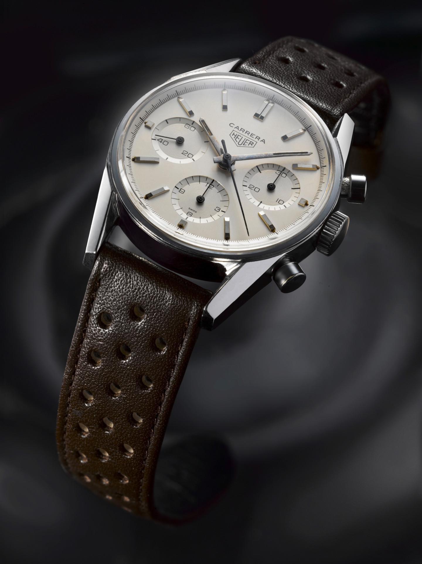 Исторические часы HeuerCarrera 1963 года