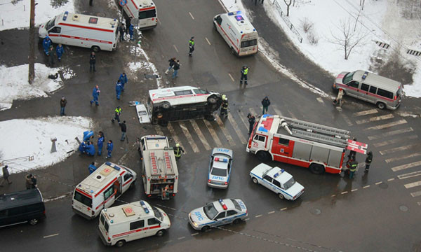 Москва назвала самые аварийные участки в городе