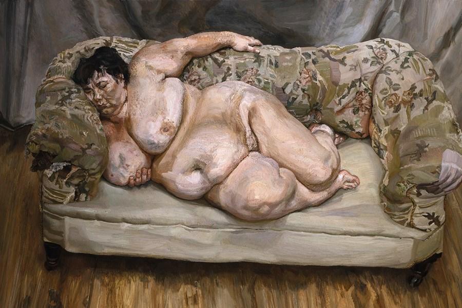 Люсьен Фрейд. «Спящая соцработница»