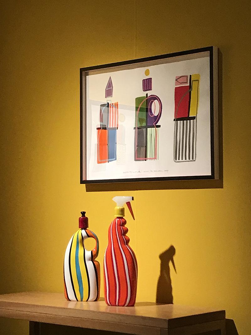 Галерея Catarina Tognon, сосуды из выдувного стекла, Розин-Мари Грации