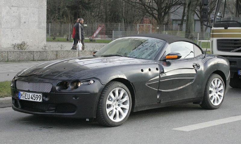 На улицах Мюнхена фотографами был замечен прототип BMW Z9
