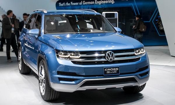 Volkswagen Crossblue могут запустить в серийное производство