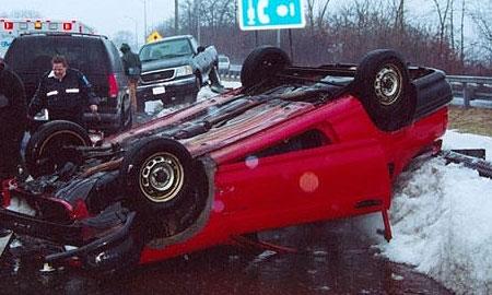 В Германии столкнулись более 60 машин