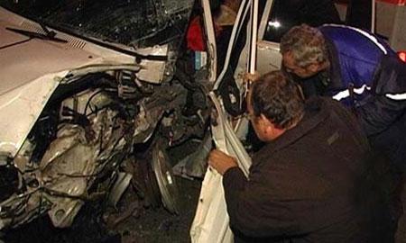 В Ульяновске Toyota протаранила шесть автомобилей