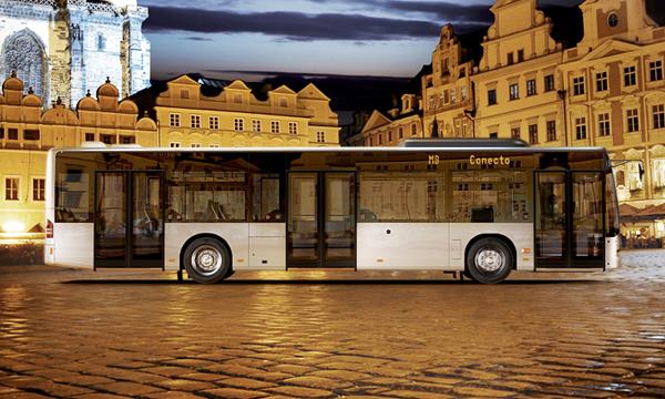 В Москве запустят автобусы Mercedes-Benz Conecto