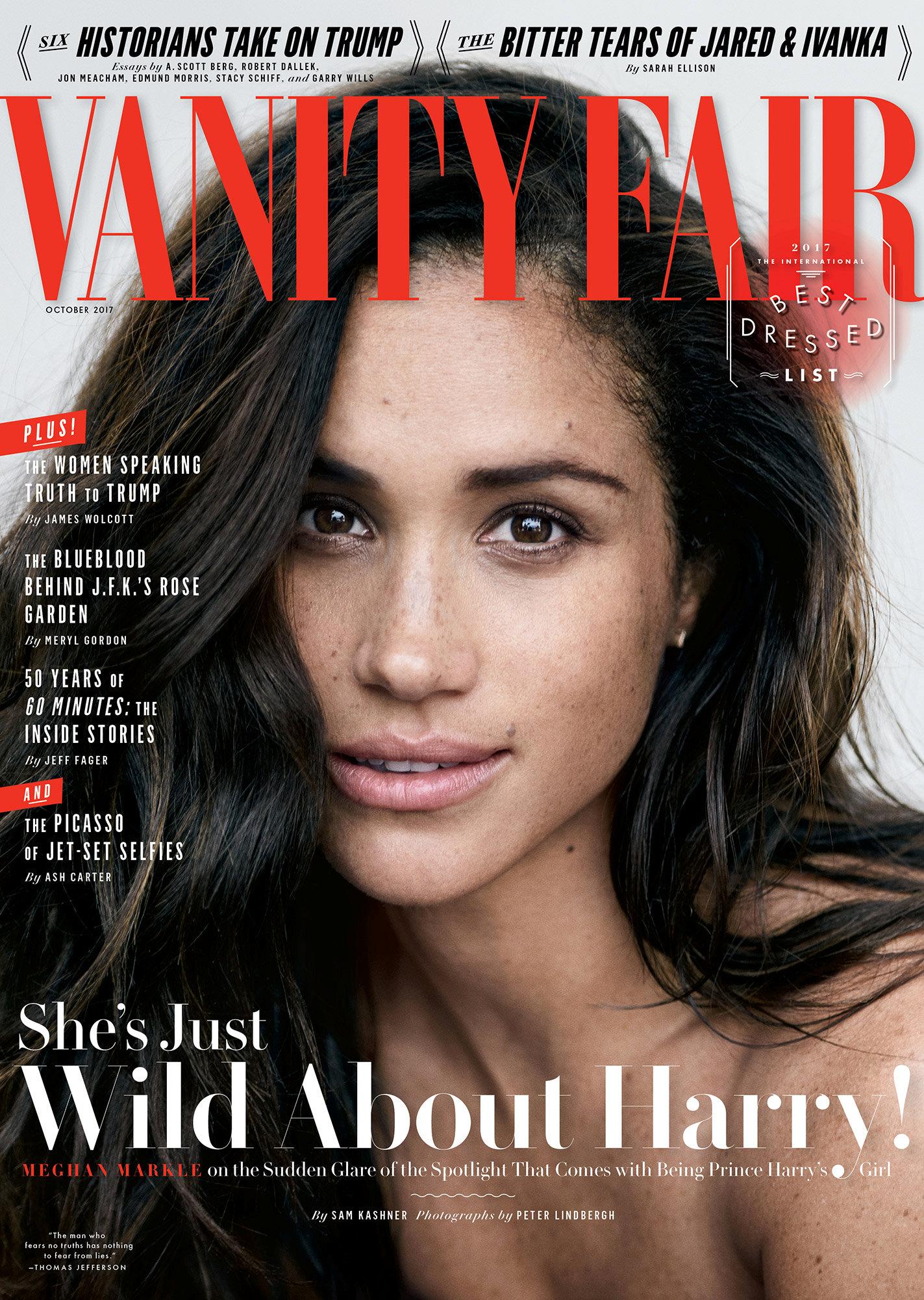 Обложка Vanity Fair, октябрь 2017
