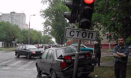 ГИБДД опубликовала список самых опасных перекрестков Москвы