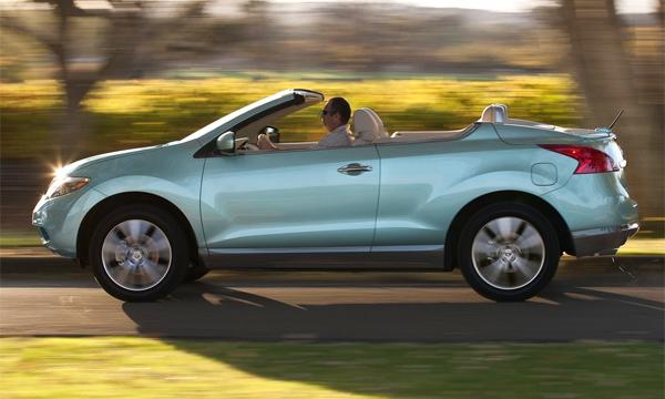 Кабриолет Nissan Murano снимут с производства