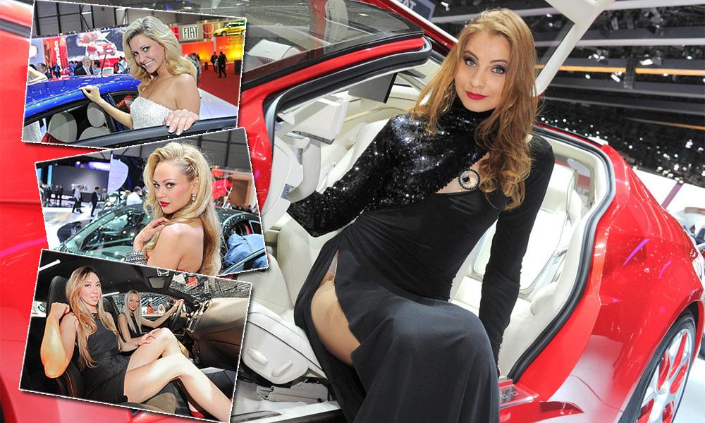 Лучшие девушки автосалона в Женеве. ФОТО