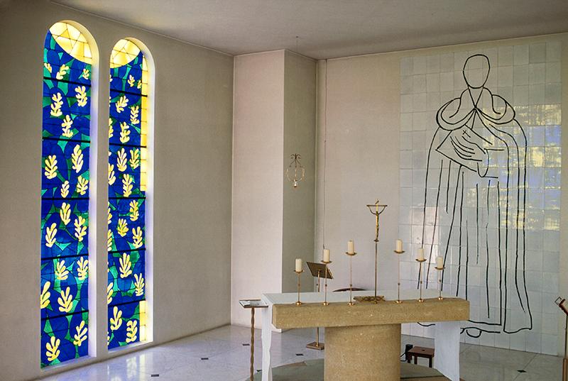 Капелла Розария в Вансе, созданная Анри Матиссом