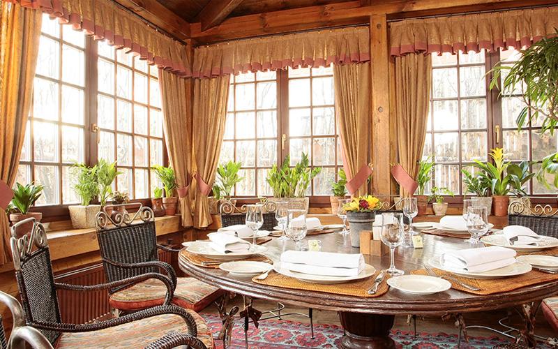 Интерьер ресторана «Царская охота»