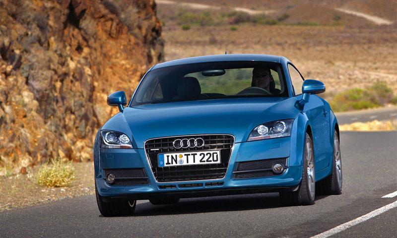 Тест Audi TT 3.2 МТ