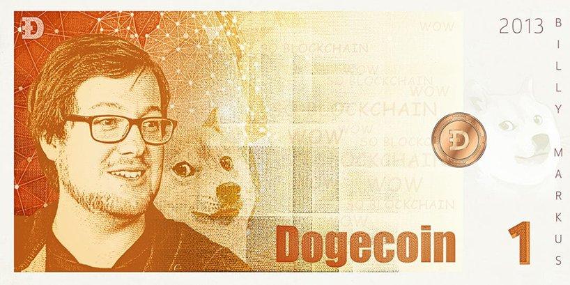 Dogecoin был разработан в 2013 году программистом Билли Маркусом и маркетологом Джексоном Палмером