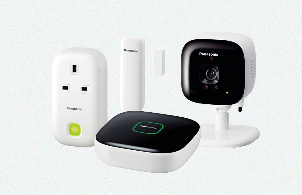 Видеокамера в системе умного дома Panasonic