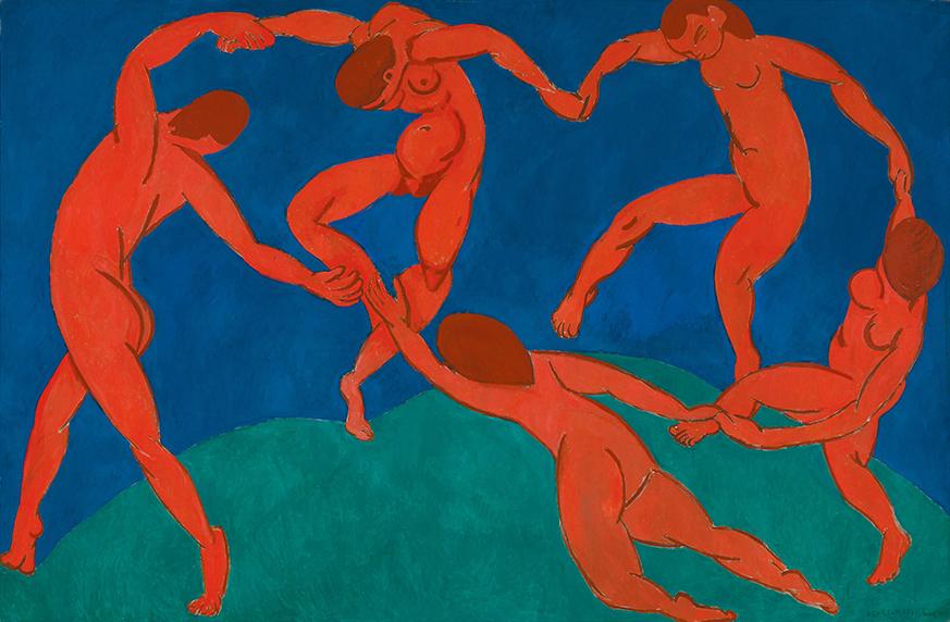 Анри Матисс. «Танец», 1910