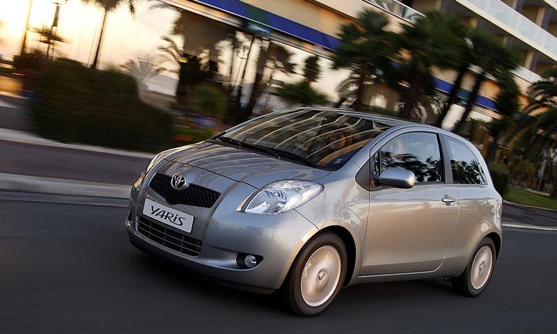 В России стартуют продажи трехдверной модификации Toyota Yaris