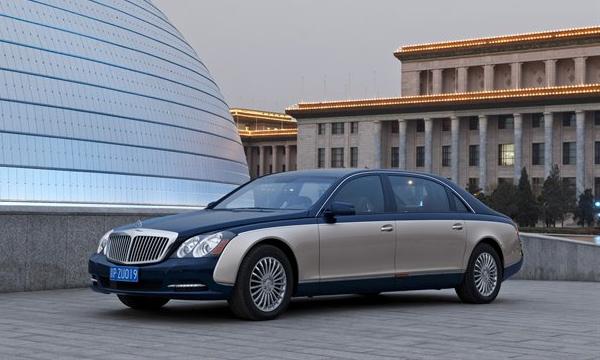 В Пекине покажут обновленную линейку Maybach