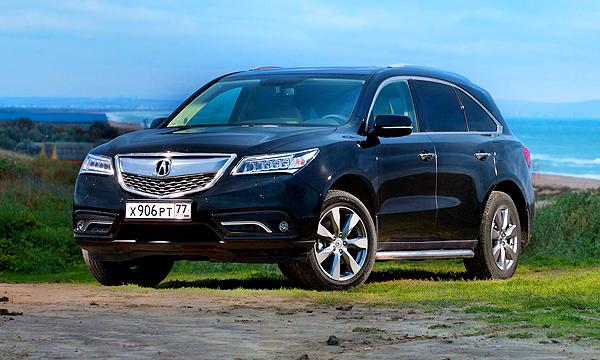 В России начались официальные продажи Acura