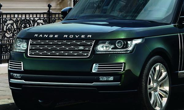 Range Rover получил самую дорогую модификацию
