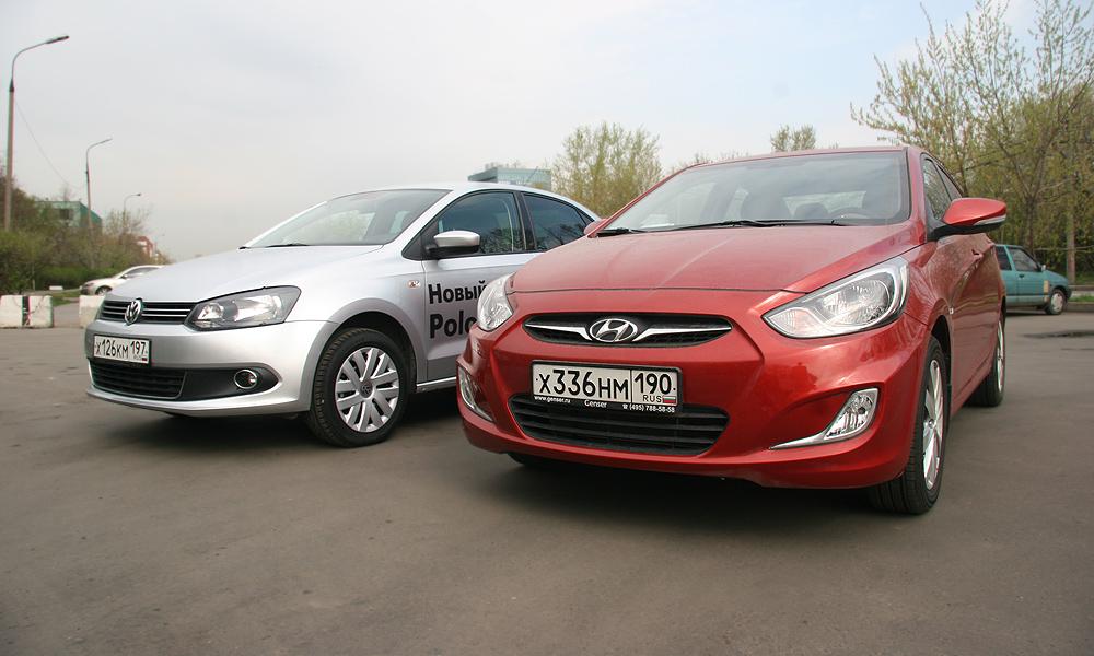 VW Polo Sedan – Hyundai Solaris. Мужчины против женщин
