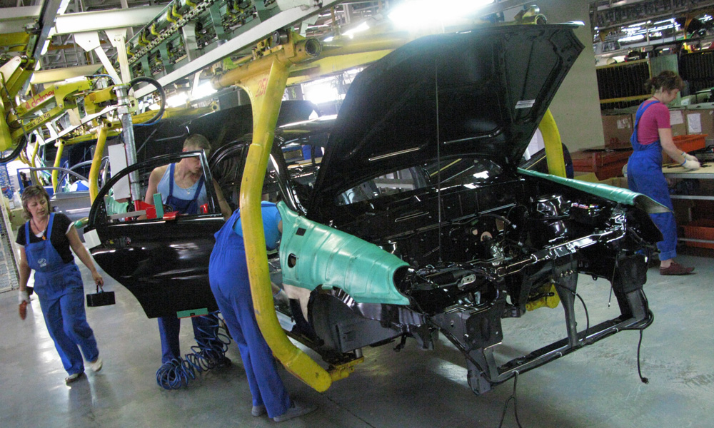 Украинский автопром демонстрирует оживленный рост