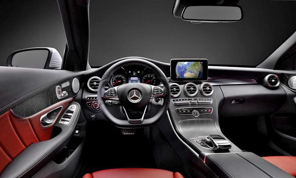 Салон нового Mercedes-Benz C-Class будет выполнен в стиле S-Class