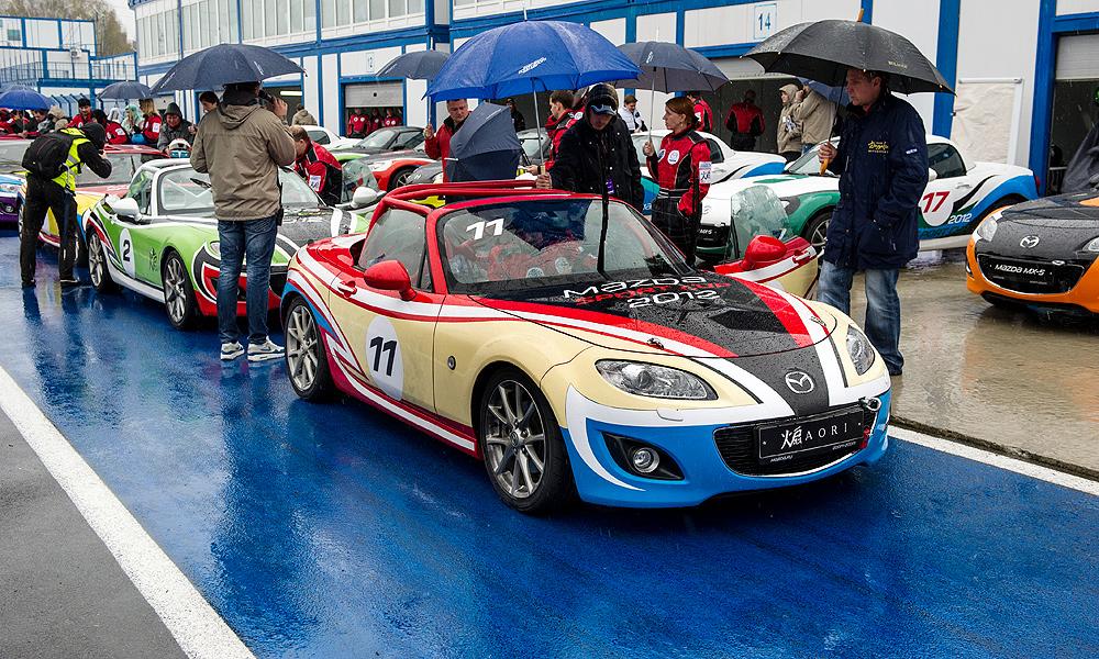 Роковая ошибка. Финал Mazda Sport Cup 2012