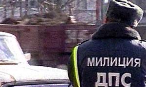 В Москве Mercedes сбил сотрудника ГИБДД