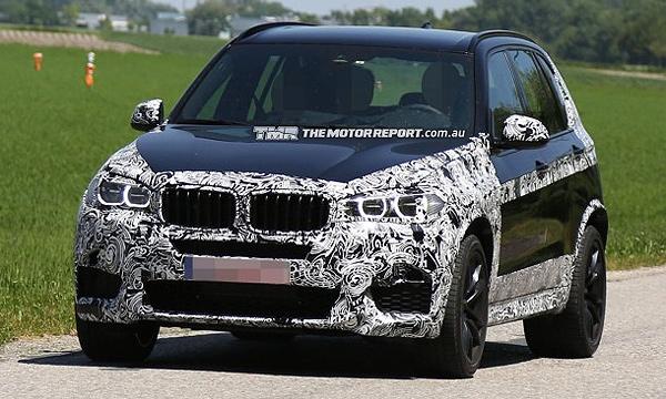 BMW X5 M станет быстрее за счет облегченного кузова
