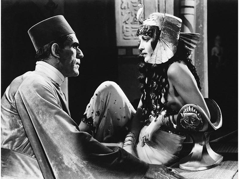 Кадр из фильма «Мумия», 1932