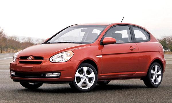 Hyundai Motor America объявил о начале продаж в США трехдверных Accent 2007 модельного года