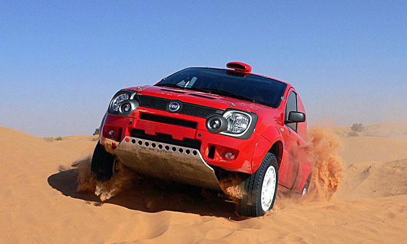 Fiat Panda Cross Дакар-2007
