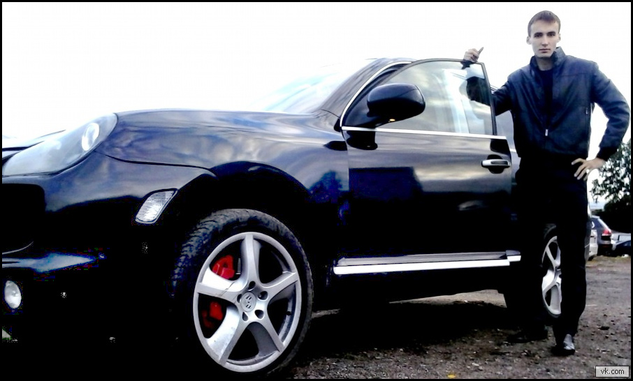 «Дьявол» на Porsche Cayenne заговорил из камеры