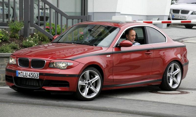 Новое купе BMW 1 серии