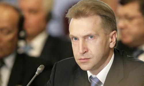 Первый вице-премьер правительства Игорь Шувалов